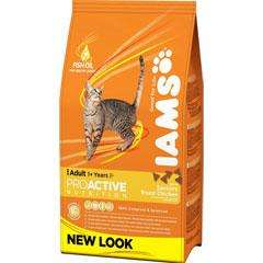 Iams Cat Adult Proactive 15kg £42.12 (25%off rrp) @ Pet Planet