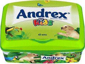 Andrex Kids Moistened Toilet Tissue Tub Wipes (42) was £1.98 now 2 for £2.00 @ Sainsbury's