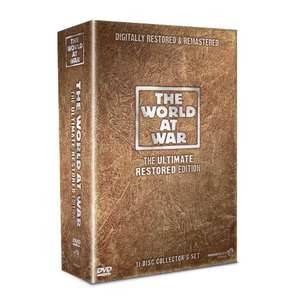 'World at War' boxset - Restored Edition (DVD) - £16.85 delivered @ Tesco Entertainment