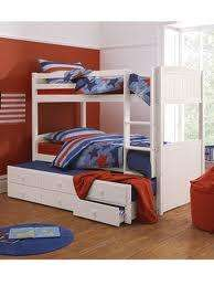 Kidspace Georgie Solid Pine Bunk Bed Frame with Storage for £255.95 delivered at Very