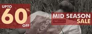 Upto 60% off Mid Season Sale @  Red Square Clothing