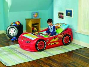 LITTLE TIKES DISNEY CARS LIGHTNING MCQUEEN ROADSTER & BUZZ LIGHTYEAR CHARACTER TODDLER BEDS inc. MATTRESS - £100 OFF & FREE DELIVERY £199.99 @ LITTLE TIKES .CO.UK