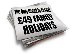 Park Resorts Seawick Holiday Park  4 nights from £49 per family @ Park Holidays