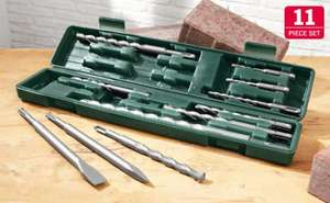 11 Piece Heavy Duty SDS Drill Bit Set  £7.99 @ Lidl 3rd May 2012
