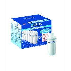 Brita Classic Water Filter Cartridges - 6 Pack for £13 @ Sainsburys