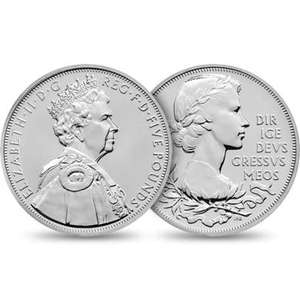 The Official 2012 UK Diamond Jubilee £5 Coin for £5 Delivered @ The Royal Mint