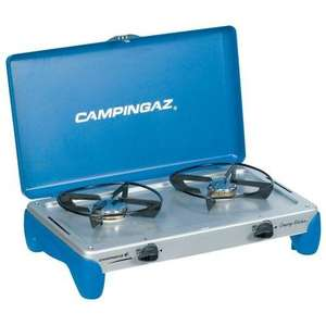 Campingaz 2 Burner Stove Camping Kitchen - £8.50 possibly less with TCB/Quidco @ Tesco