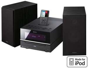 SONY CMTBX77DBI Mini Hi-Fi System with iPod dock for £99.95 @ RicherSounds (Instore)