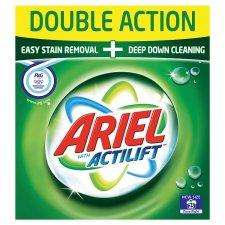 Ariel Washing Powder With Actilift 25 Wash 2KG £2 using coupons @ Tesco