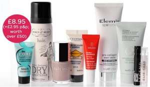LIB CEW Beauty Awards Box RRP £50 inc Elemis, Liz Earle, Benefit, L'Occitane, Nails Inc products £11.90