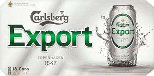 18 x 440ml cans Carlsberg Export £10.00 at Tesco online & instore