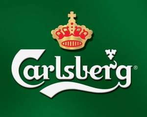 CARLSBERG Lager 12 x 440ML 3.8% ABV Cans Pack only £6.99 @ ALDI