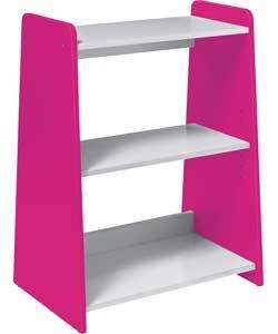 Luxor Wooden Bookcase - Pink and White or Blue and White - was £34.99 now £17.49 @ Argos