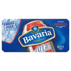 8 cans Bavaria Premium Non Alcoholic Beer £1.49 at Morrisons