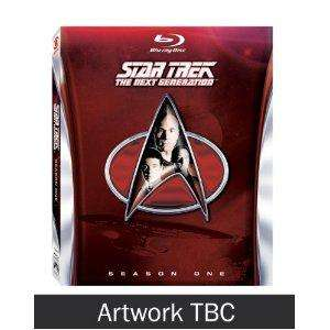 Star Trek - The Next Generation season 1 Blu-ray *pre-order* £46.27 @ Tesco w/code