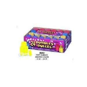 Pack of 24 Assorted Coloured Party Bubbles now £1.79 del @ Amazon ( sold by Partyrama )
