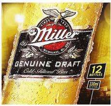 Miller Genuine Draft 12 x 330ml down from £10 to £7 @ Morrisons