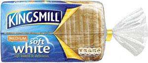 Kingsmill Every Day Medium White Loaf (800g) ONLY 75p! with Printable Voucher @ BP
