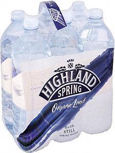 Highland Spring Still Water 6x1.5L 78p (8.7p per litre) @ Tesco