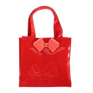 Ted baker Womens Tinycon Bow Tote Dark Orange Bag for £22.50 delivered (using code MAY10) @ Tucci