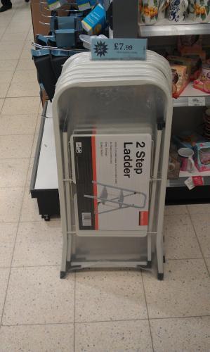 2 Steps Ladder £7.99 @ Home Bargains