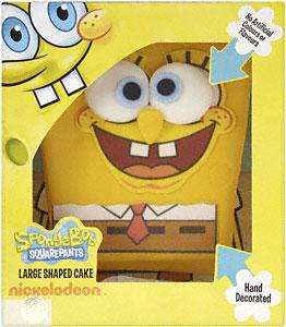 Spongebob Square Pants Cake - 12 Servings was £12.00 now £6.00 @ Morrisons
