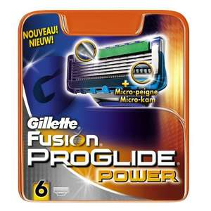 Gillette Fusion ProGlide Power Razor Blades 6-Pack  £10 REDUCED RRP £15 ASDA