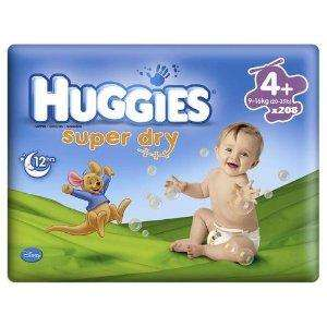 Huggies Super dry economy packs half price now £3.75 @ Co-op