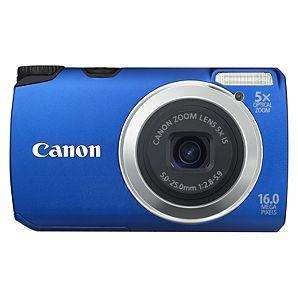 Canon PowerShot A3300 Compact Camera - 16MP (Blue / Pink / Red / Silver) £49 @ Asda Direct