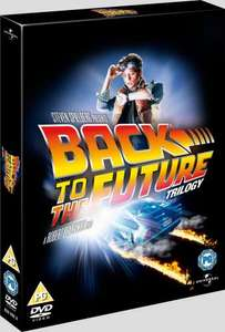 Back to the Future trilogy DVD - asda £10