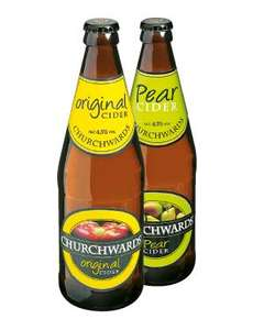 Churchwards Original or Pear Cider (568ml) 85p @ Lidl