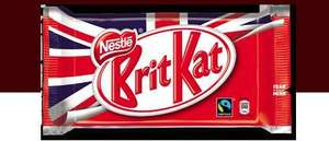 Limited Edition Brit Kat bars will grace the shelves from 23rd May! Grab a FREE Bar!