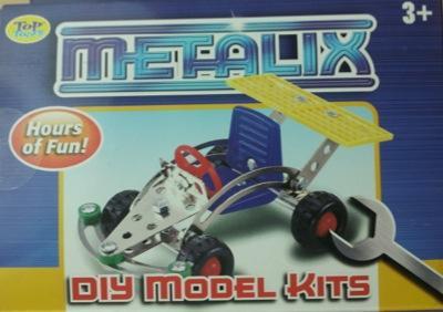 Metal Model Kits (Plane, Buggy, 4x4) @ @99p Stores