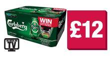 Carlsberg (20x440ml) Cans - £12 @ Co-op
