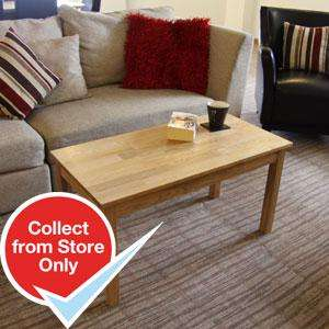 Oslo Solid Oak Coffee Table £39.99 at Home Bargains (other furniture in post)