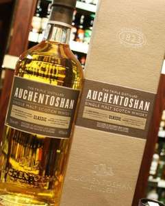 auchentoshan single malt whisky- £21 at asda
