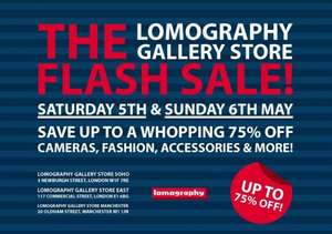 Up to 75% off Cameras, Fashion, Accessories & More @ Lomography (In Store - MCR & LDN)