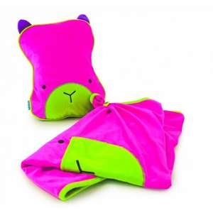 Trunki SnooziHedz Travel Pillow and Blanket (Pink) £9.99 @ Amazon