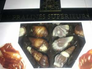 Praline Filled Chocolate Sea Shells reduced to £1.49 at Lidl
