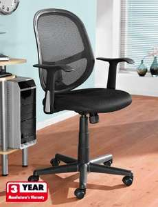 Office desk chair with 3yr warranty - £29.99 in-store @ Lidl