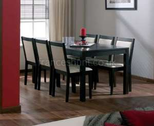 Thamesmead Wenge Dining Table + 4 Chairs for £339.39 Delivered @ Frances Hunt