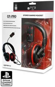 Official PS3 CP-PRO Stereo Gaming Headset - only £19.99 @ Techradardeals