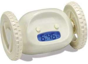 Runaway Alarm Clock - Guaranteed To Get You Out Of Bed In The Morning for £9.99 @ Dealtastic