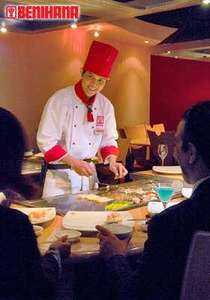 1 DAY REMAINING OVER 400 PURCHASED 50% OFF Teppanyaki 'Benihana Delight' Feast For Two with Japanese Tea in London £35 via LivingSocial