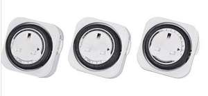 3 Pack Timer Plugs £9.99 @ Homebase