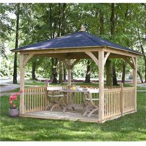 Jagram Cotswold Canopy 11x11 £1,598.90 delivered @ gardenbuildingsdirect