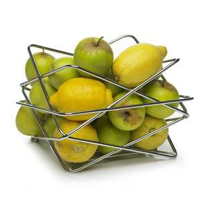Wilko Fruit Bowl Chrome Effect - £1 !!!!! @ Wilko - Reserve & collect for Free