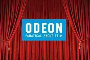 Cinema Admission from £5 at ODEON or INSIDE M25 £6 @ Groupon