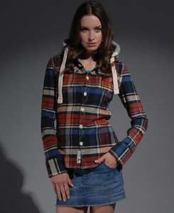 Woman's Superdry Lumberjack Hoodie Jacket £24.99 Variations @ eBay/Superdry - Link in post