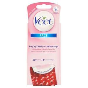Veet Face Wax Strips now half price at Tesco £2.50 instead of £5.00